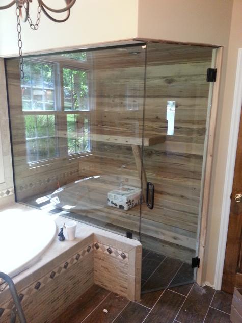 Elegant Greenville Occupied Home Staging  Transitional  Bathroom  Grand